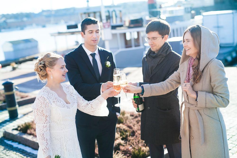 Bröllops i Stadshuset