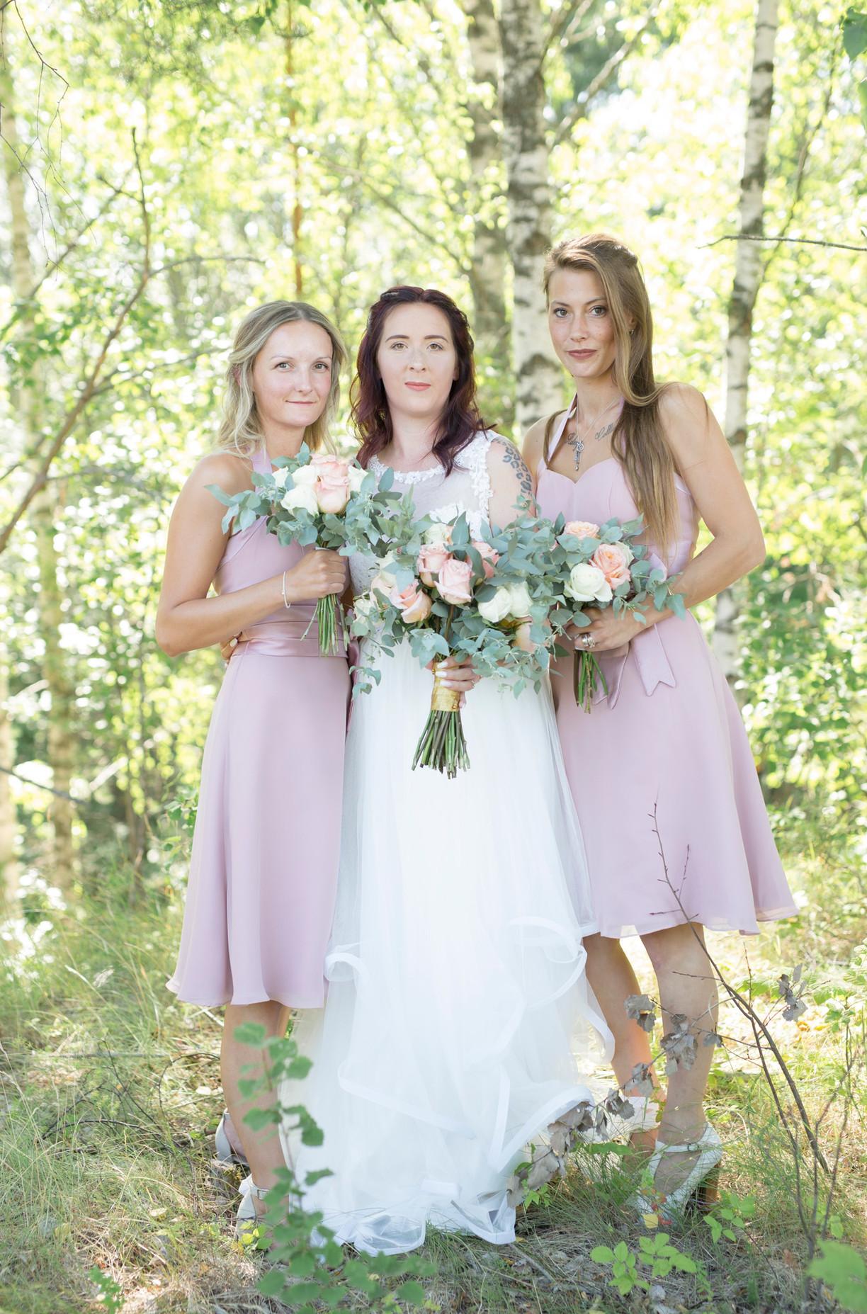 Kristofer & Saara, bröllopsfotografering Trosa