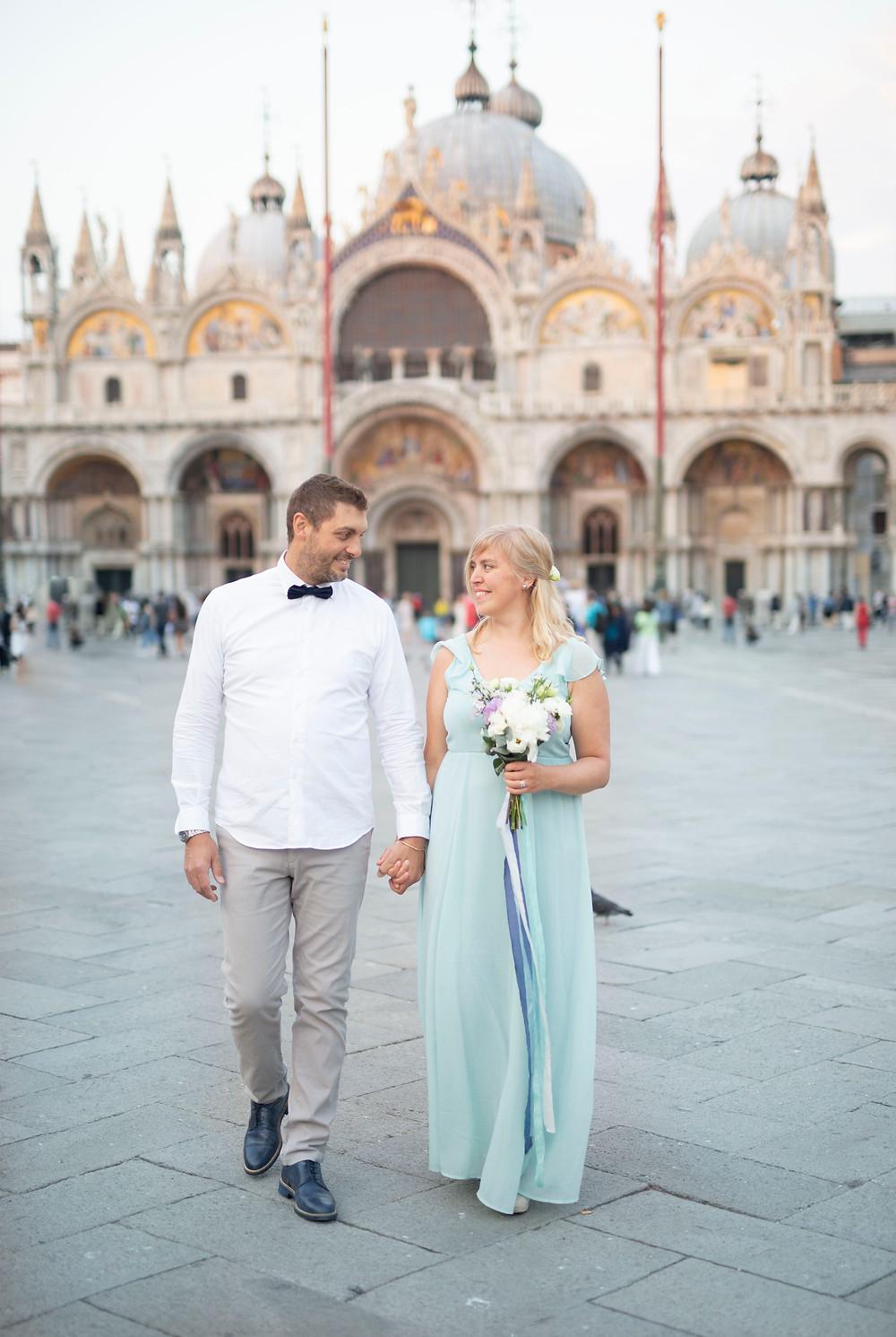 bröllopsfotograf Venedig