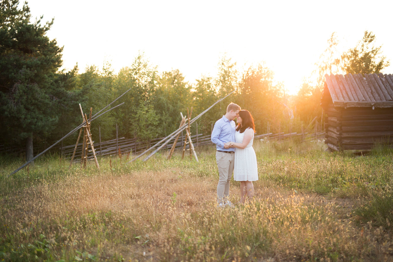 Malin & Johan, engagement Photoshoot Stockholm