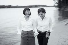 Petra & Maria företagsfotografering stockholm