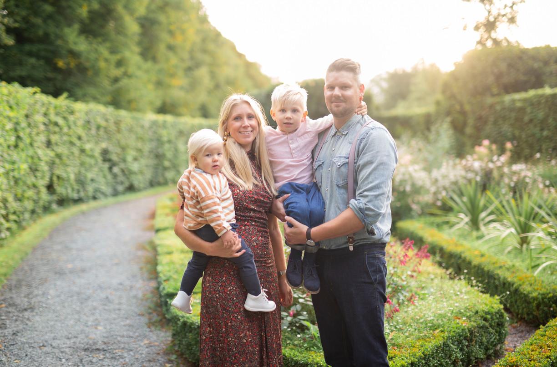 Therese & Magnus, Familjefotografering Stockholm