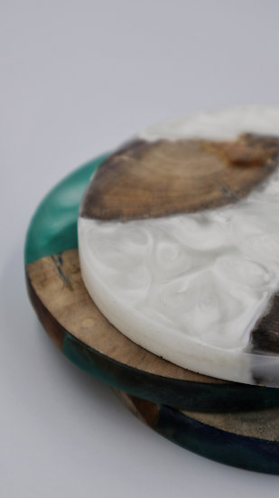 Driftwood x Resin Coasters