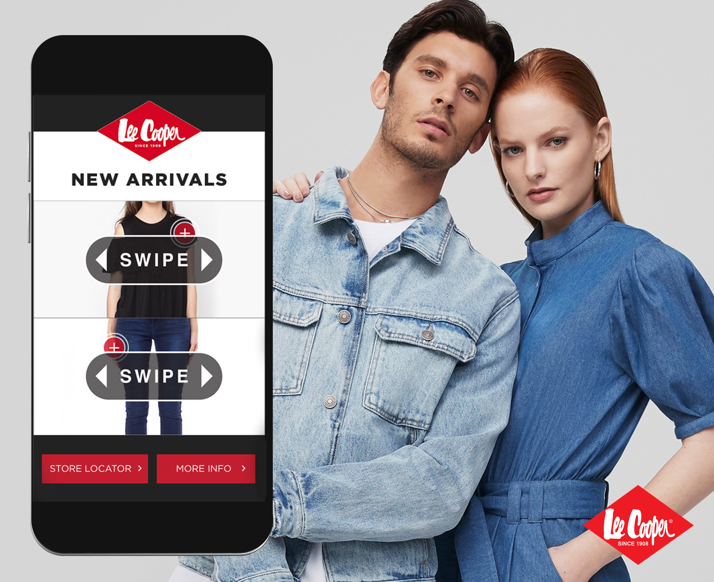 Lee Cooper interactive mobile ad