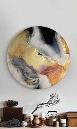 """paths"" - commission piece"