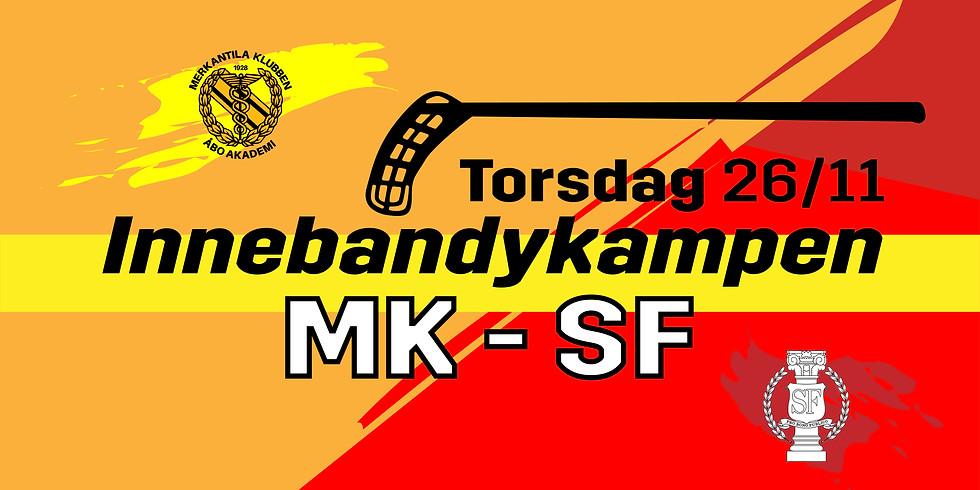 MK vs SF innebandymatch