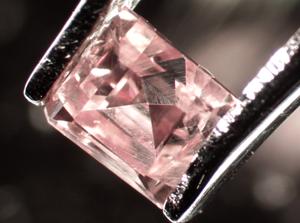 Diamant de Brasil de 0.169 ct © Escola de Gemmologia UB
