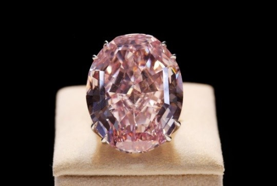 "Diamant ""Pink Star"", imatge:Sotheby's"