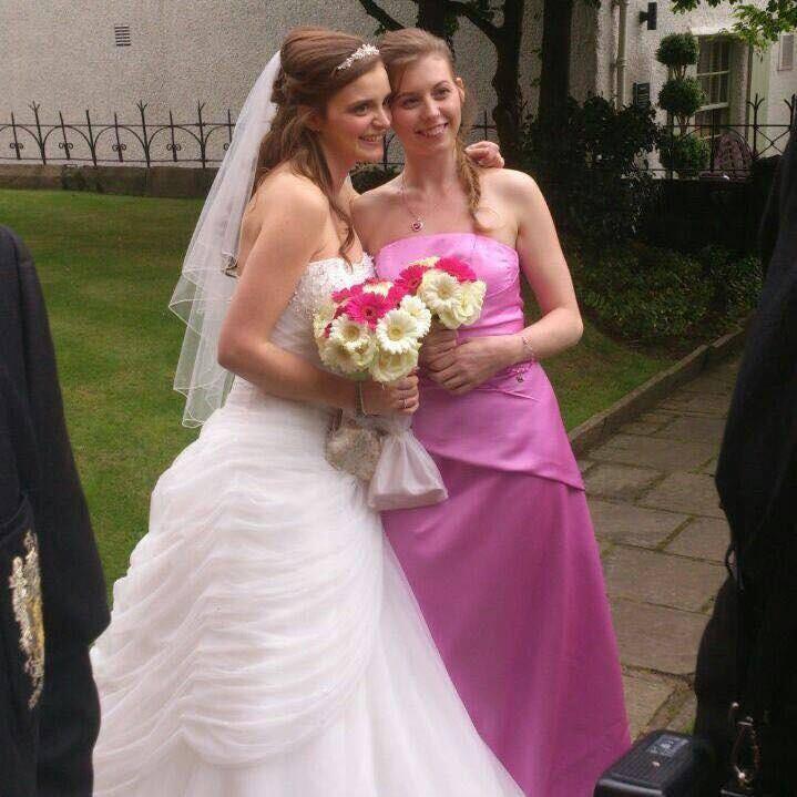Belinda and her Bridesmaid sister