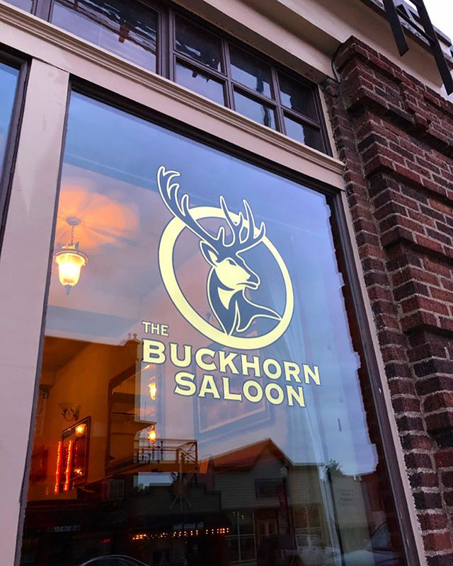 23k gilded windows for the Buckhorn Saloon in Condon, OR USA