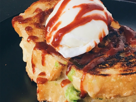 Hangover Cure Grilled Cheese