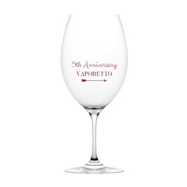 5th Anniversary Glasses