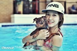 Doggy Swim Day