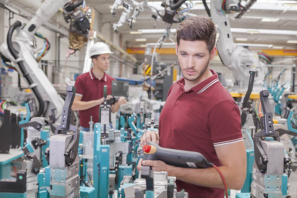 INDUSTRIAL ROBOT TRAINING - RIGHT BANNER