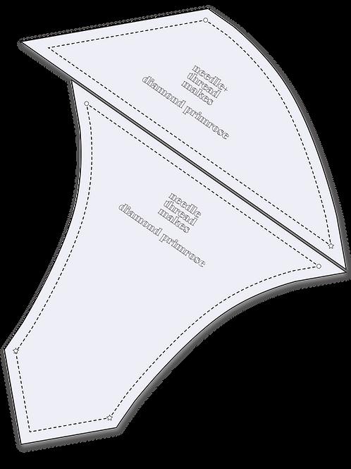 diamond primrose plexi template