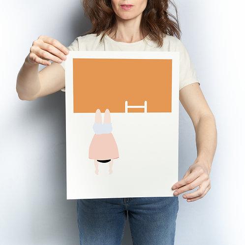 Affiche Le Cochon pendu