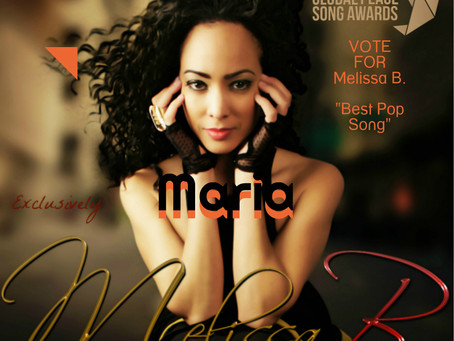 """Melissa B. song """"Maria"""" up for GLOBAL PEACE SONG AWARDS 2016"""