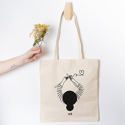 Tote Bag la Tricoteuse
