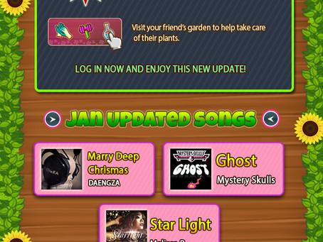 Readbana US online game now with Melissa B. Music