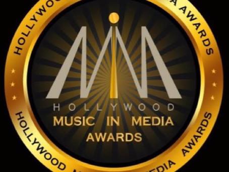 """Hollywood Music in Media Winner - Melissa B. """"Best Pop Song - Maria"""""""