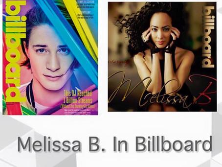 Melissa B. Featured in Billboard