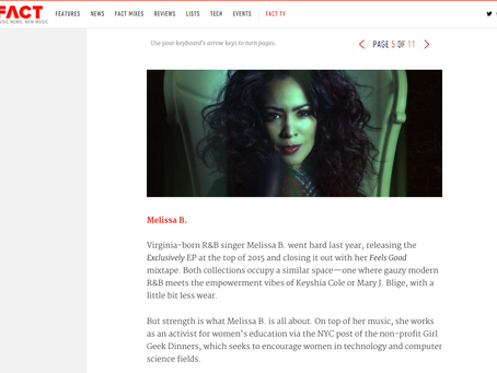 Melissa B. Named one of the 10 R&B Artists to watch