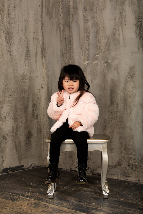 Lola Coat Pink