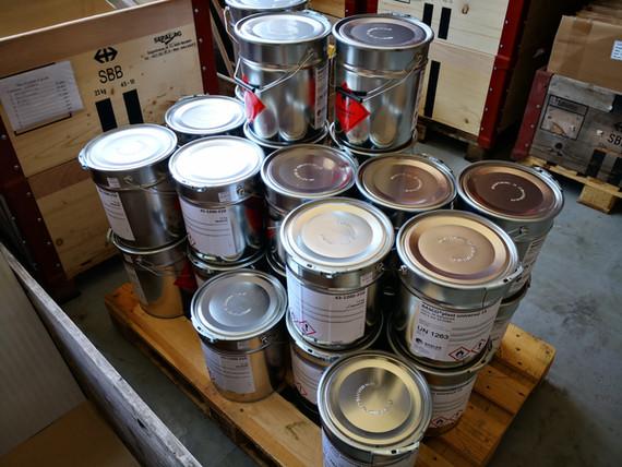 Klemmfix Bodenmarkierung, Kaltplastik, Decomark, Premark, Spritzplastik, Strassenmarkierung