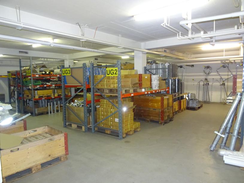 Klemmfix Lager Signalisation Winterdienst Bodenmarkierung