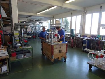 Klemmfix Werkstatt Lager Equipe Signalisation
