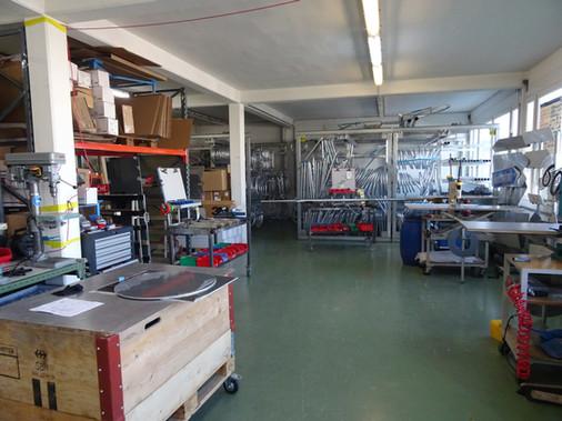 Klemmfix Werkstatt Lager Produktion Equipe