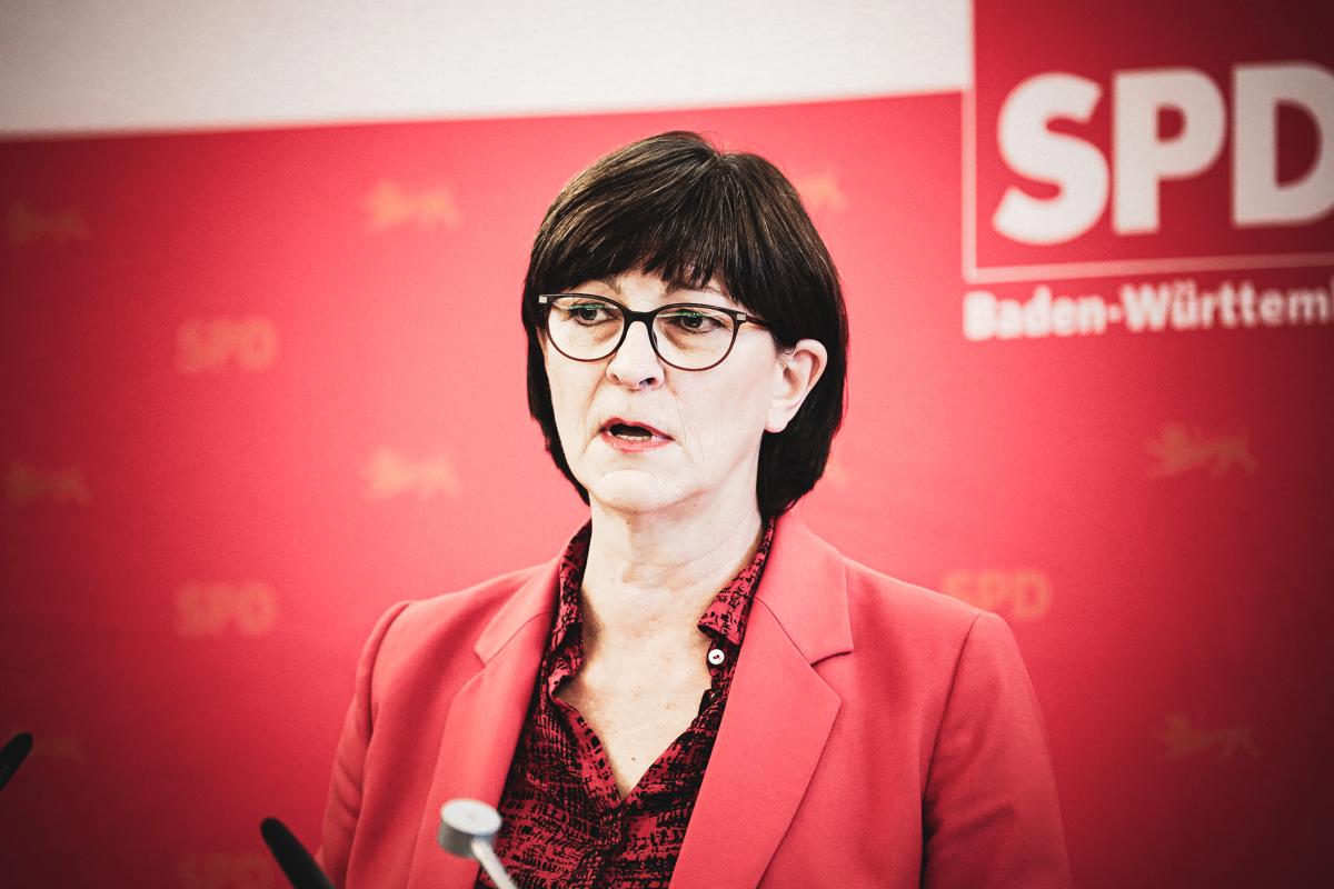 Saskia Esken Bundesvorsitzende SPD