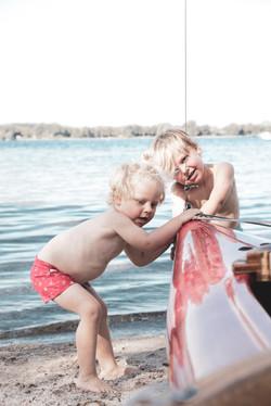 Abenteuer mit dem Segelboot