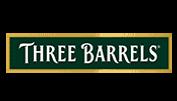 Three Barrels Logo