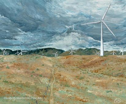 Windmills in the Desert