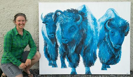 Buffalo Art Wildlife Art