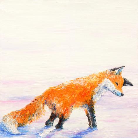 Fox Hunt Triptych SOLD