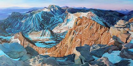 Mount Whitney Painting