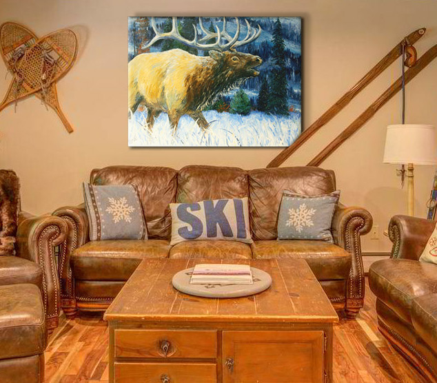 Sample Room with Elk