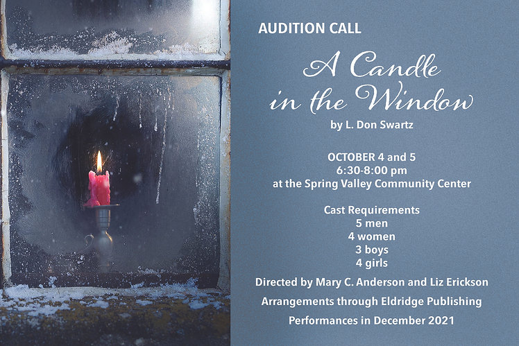 Audition Call A Candle in the Window.jpg