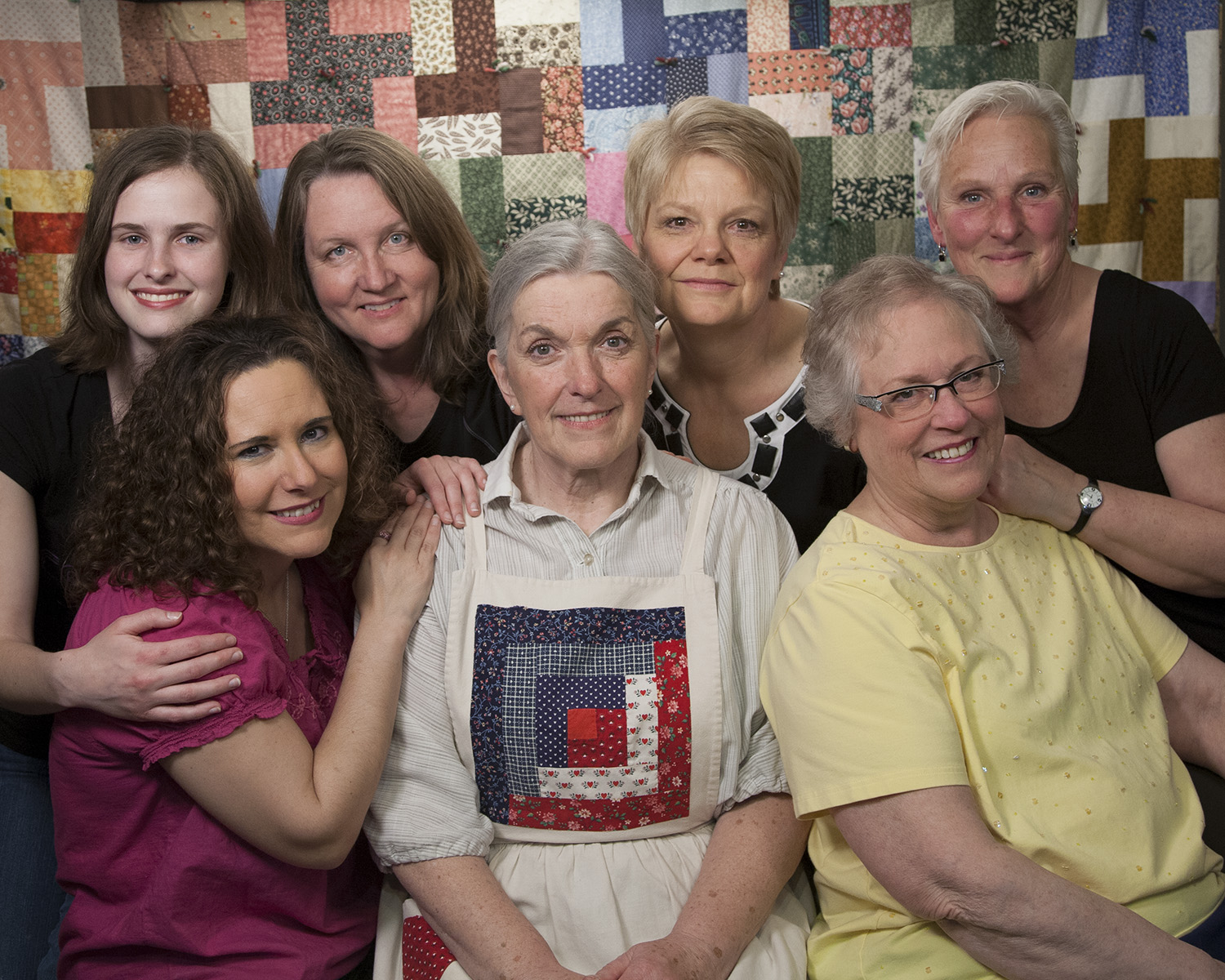 Quilters cast