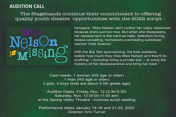 Audition Call Miss Nelson is Missing.jpg