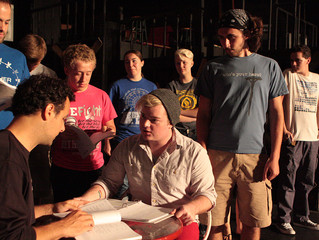 WEST SIDE STORY in rehearsal