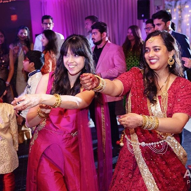 Bollywood fun at Indian Wedding