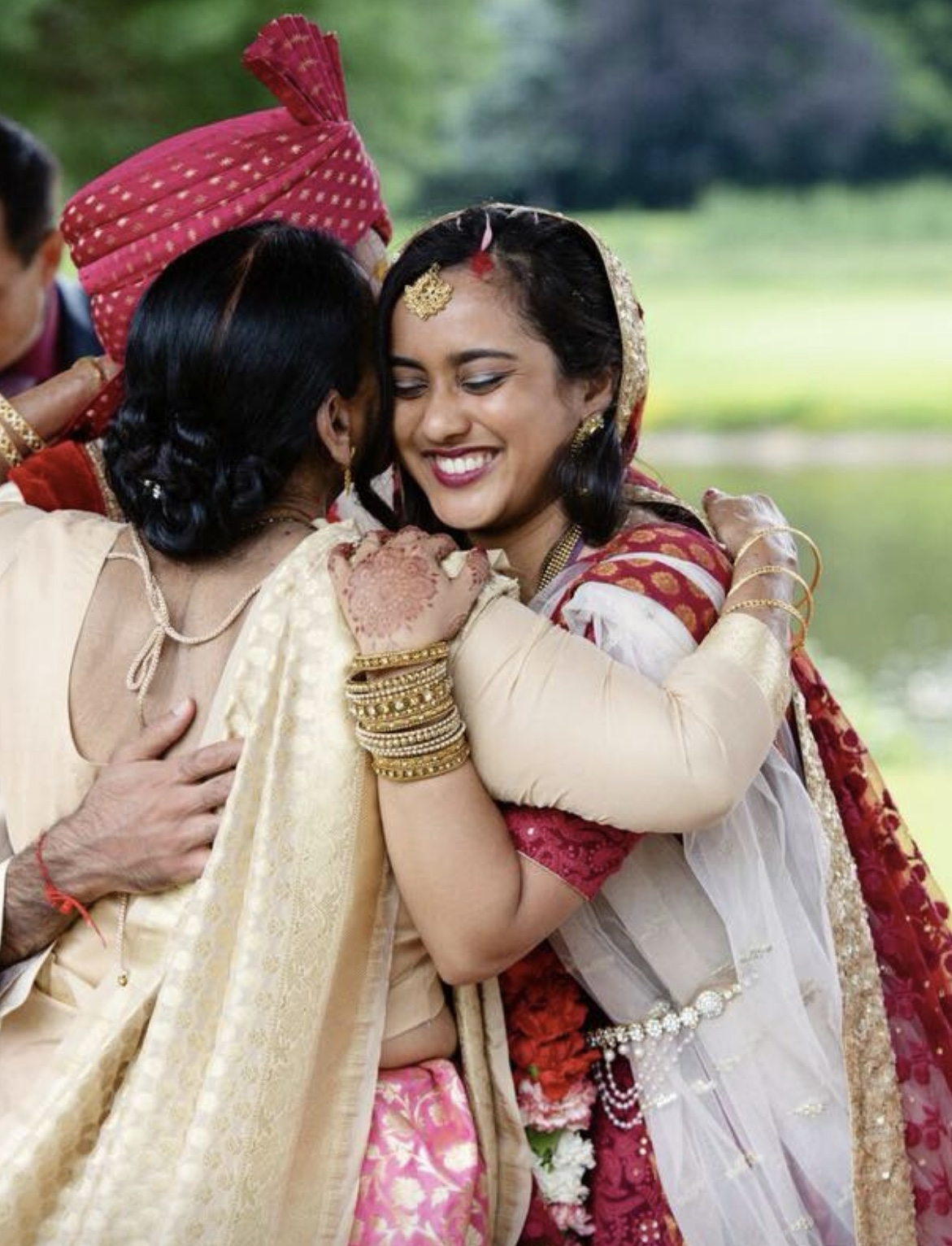 Hindu Indian Bride and Mother