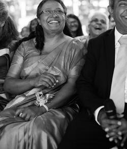 Proud Parents at Indian Wedding