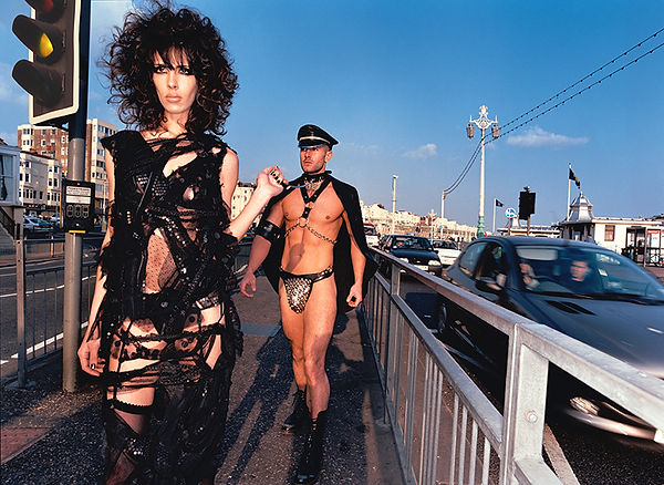 David LaChapelle, Untitled (Anthony on Leash), 2002