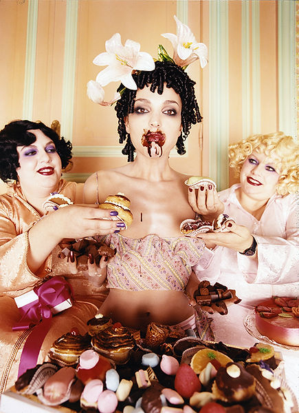 David LaChapelle, Chocolates, 1996