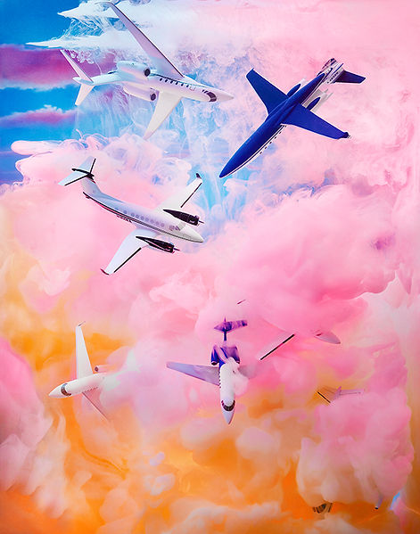 David LaChapelle, Airstocracy: In Decadence I Once Reclined, 2014
