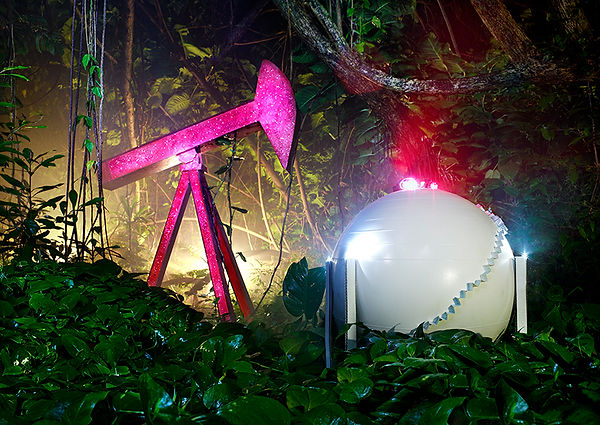 David LaChapelle, Gas Exxon, 2012